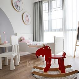 """""""圣诞味""""的家现代儿童房图片"""