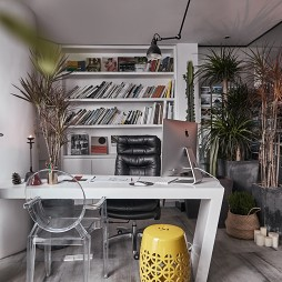 时上建筑空间办公桌设计图片