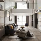 loft复式大客厅设计图