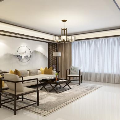 中式客厅_3526750