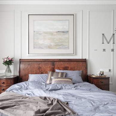 简洁美式复式次卧设计图