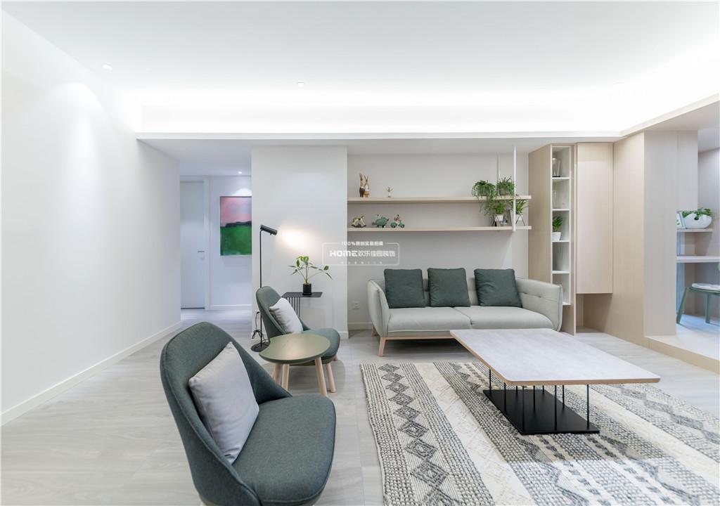 欢乐佳园装饰 从房子变成家,客厅实用性最大化的布局方法客厅4图