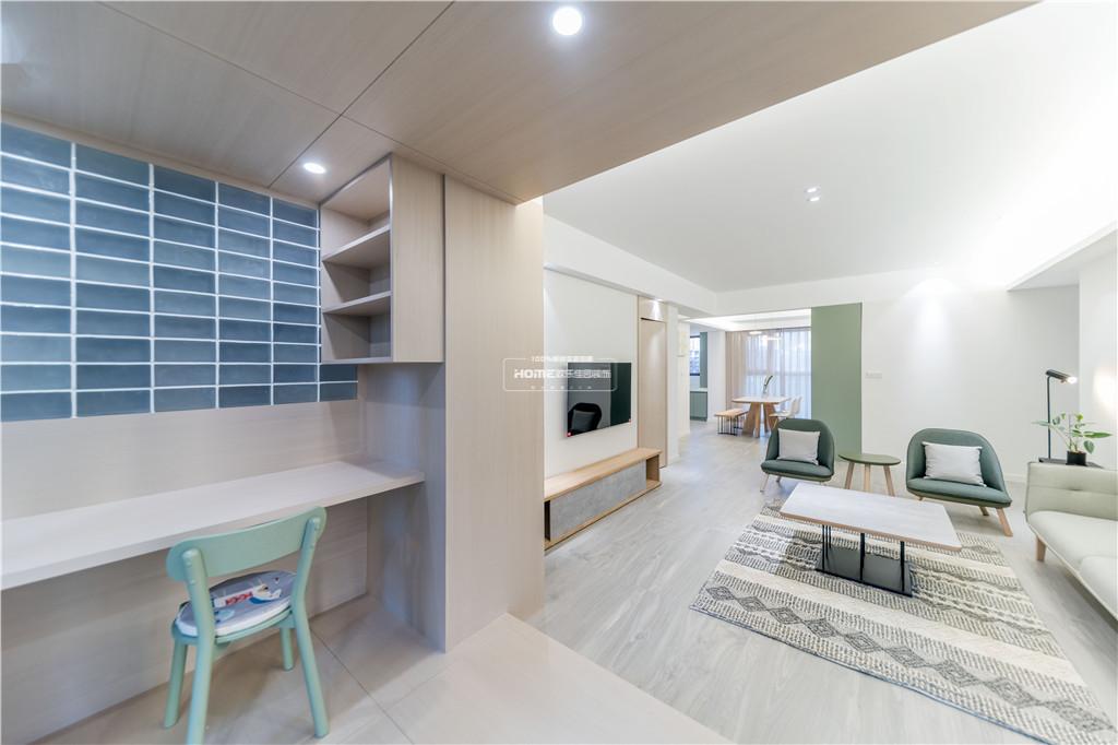 欢乐佳园装饰 从房子变成家,客厅实用性最大化的布局方法功能区