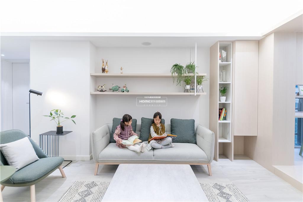 日式风三居客厅隔板实景图片日式设计图片赏析