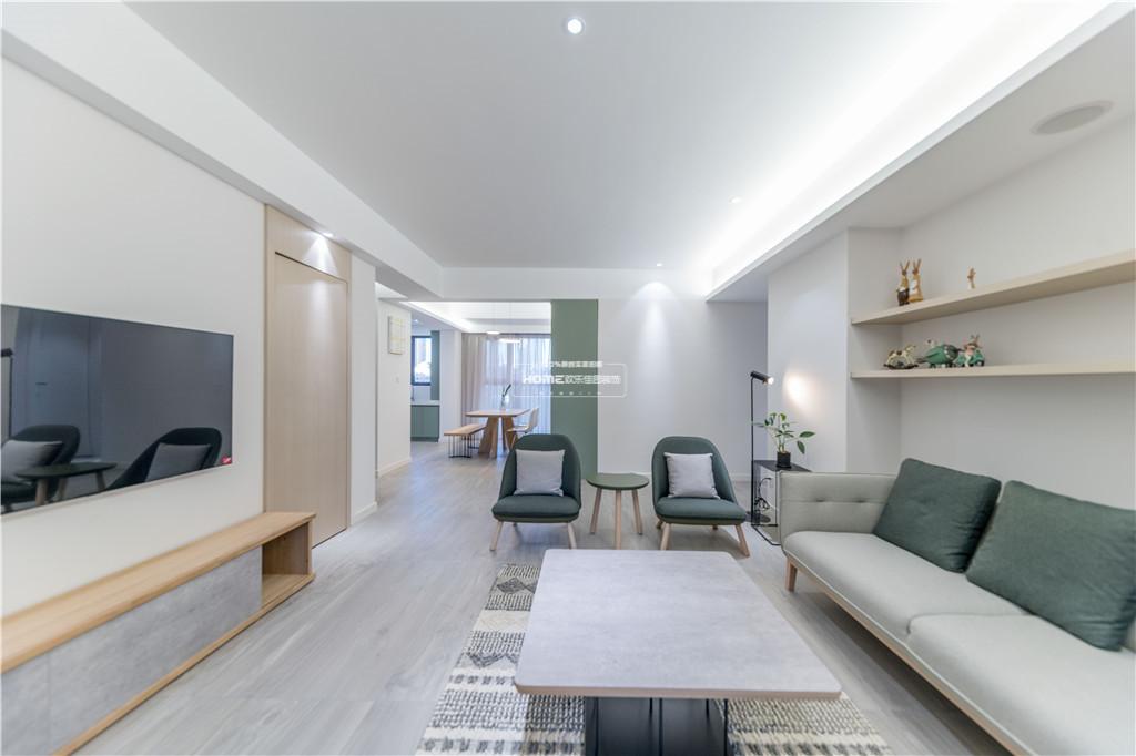 欢乐佳园装饰 从房子变成家,客厅实用性最大化的布局方法客厅2图