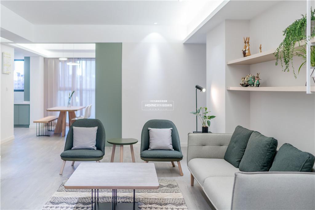 欢乐佳园装饰 从房子变成家,客厅实用性最大化的布局方法客厅1图