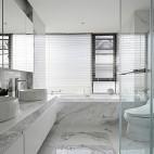 简约时尚卫浴设计实景图片
