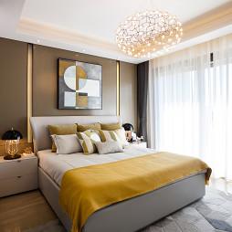 中南·湖悦天境售楼处卧室设计图