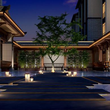 成都度假酒店设计_予与鱼度假酒店_3531061