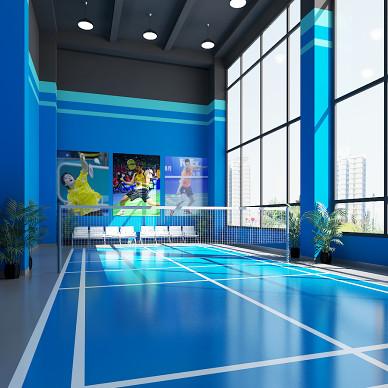 民生银行办公健身中心室内设计_3532370