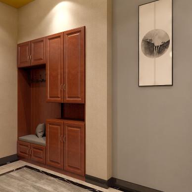观山闲居中式别墅室内设计_3532380