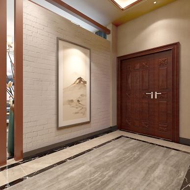 观山闲居中式别墅室内设计_3532390