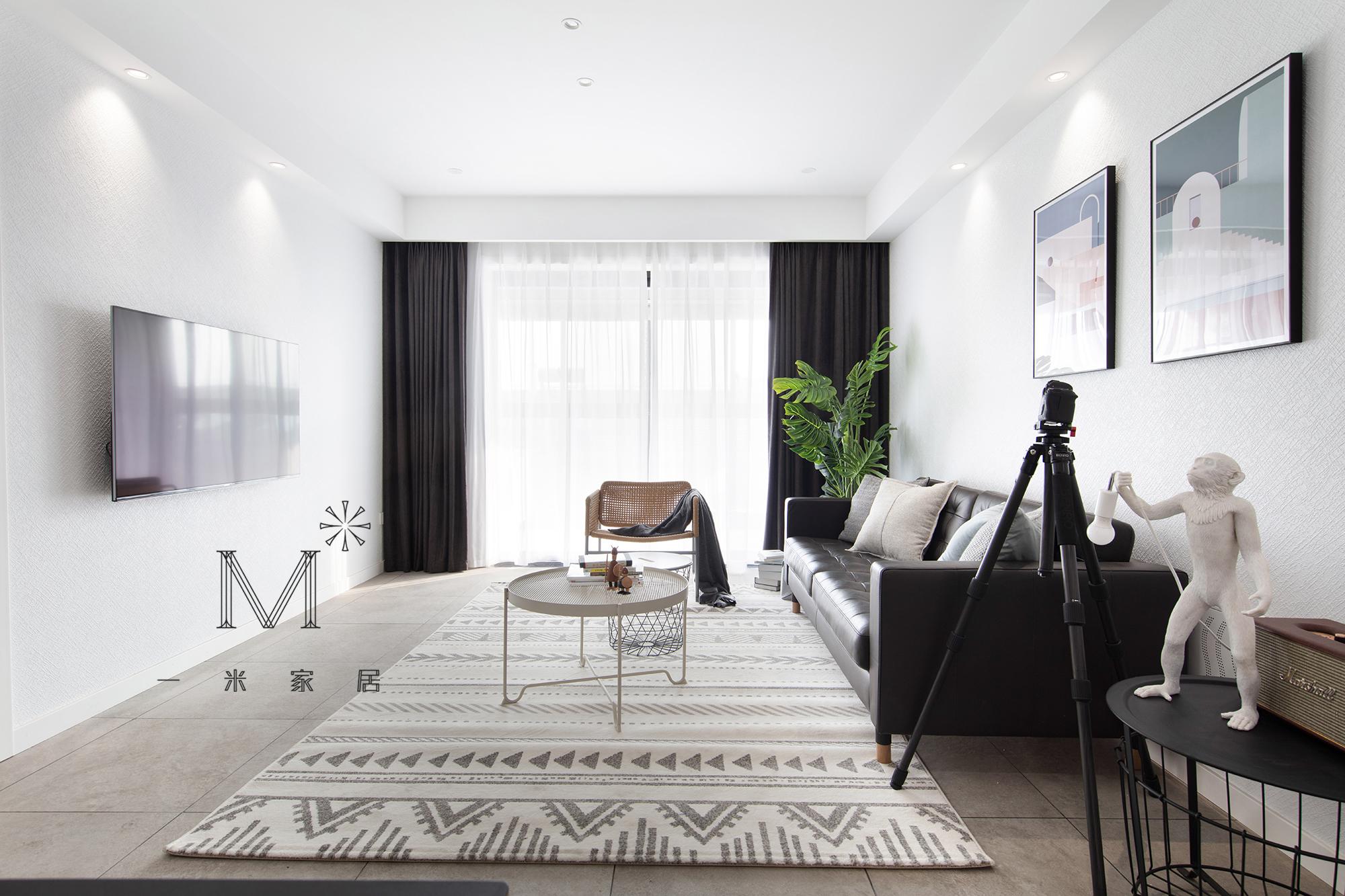 温馨71平宜家三居装修设计图客厅1图现代简约客厅设计图片赏析