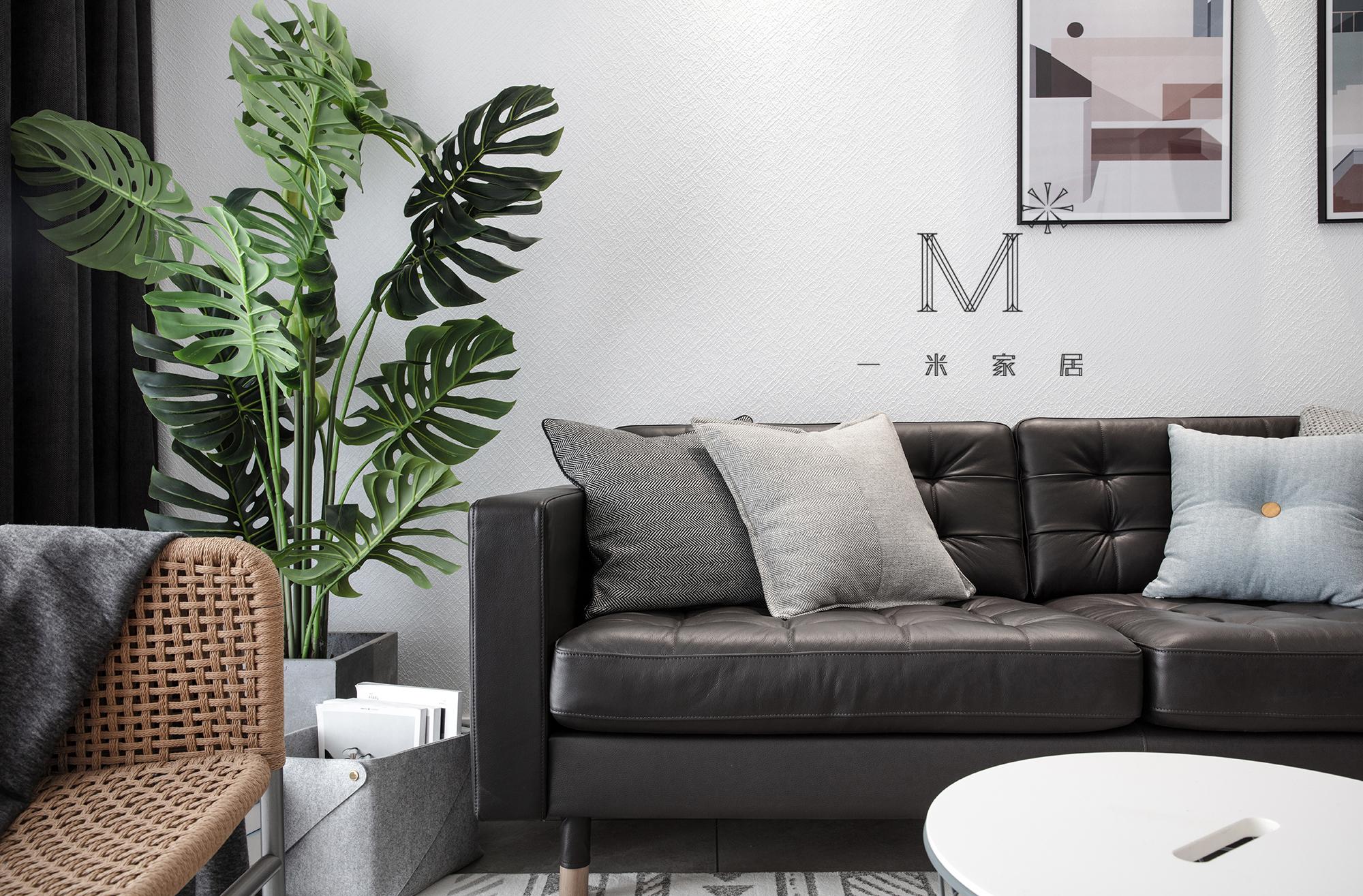 明亮106平宜家三居装修美图客厅现代简约客厅设计图片赏析