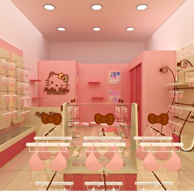 HELLO KITTY 内衣店设计_3534432