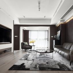 高规格现代客厅设计图