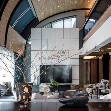 质感现代客厅设计实景图