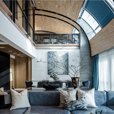 ULD私宅设计作品丨观心观世界,质感质