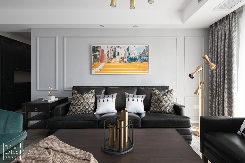 时尚美式客厅装饰画设计客厅美式经典客厅设计图片赏析