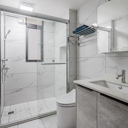 精简约风卫浴设计图片