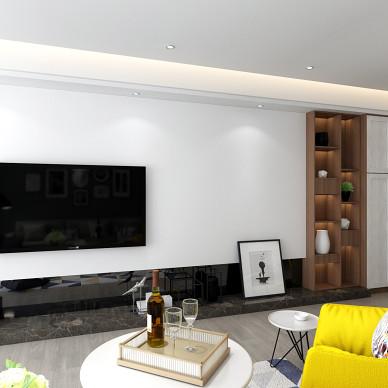 120m² 打破常规的三居室 简洁舒适_3542817