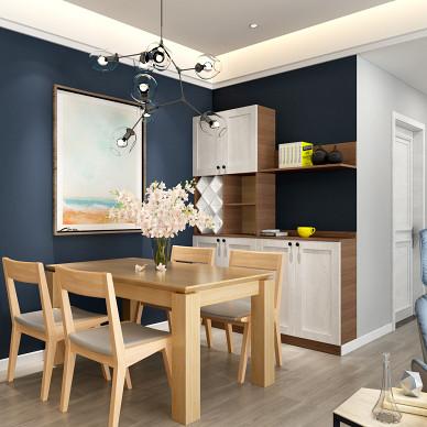 120m² 打破常规的三居室 简洁舒适_3542818