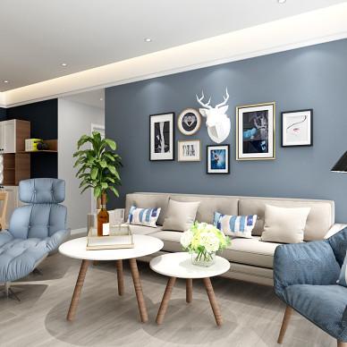 120m² 打破常规的三居室 简洁舒适_3542819