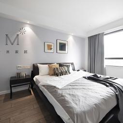 140㎡现代二居卧室设计图
