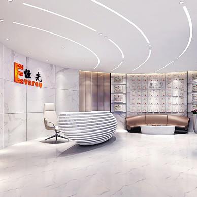 恒光集团公司办公室装修设计_3544326