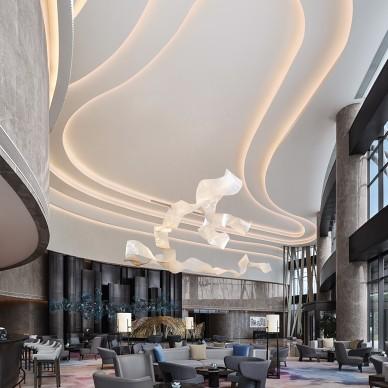 杭州临安万豪酒店吊顶设计