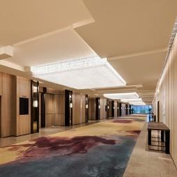 杭州临安万豪酒店前厅设计
