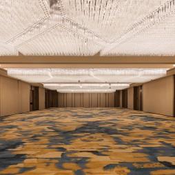 杭州临安万豪酒店宴会厅设计