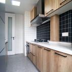 北欧风厨房橱柜实景图