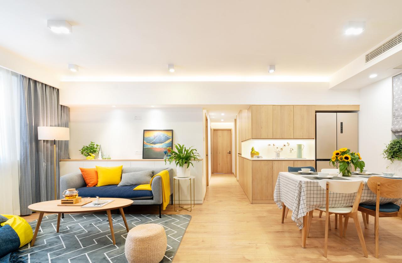 3代人住的15年老房,改后能再住10年客厅日式客厅设计图片赏析