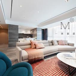 170㎡现代二居客厅沙发图片