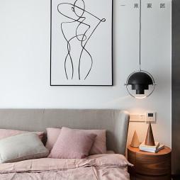 170㎡现代二居卧室吊灯图