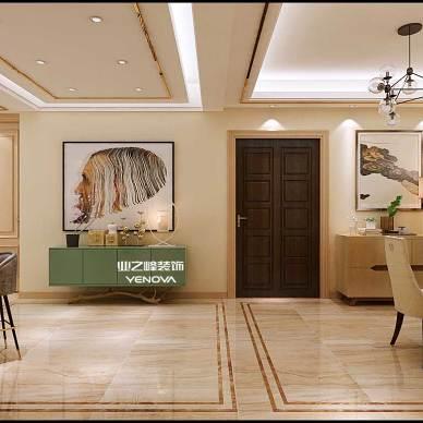 淄博装修|玉兰苑140平现代风格案例展示_3546932