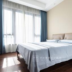 质 璞现代风次卧设计