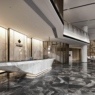宁波中海枫桥里售楼中心大堂设计