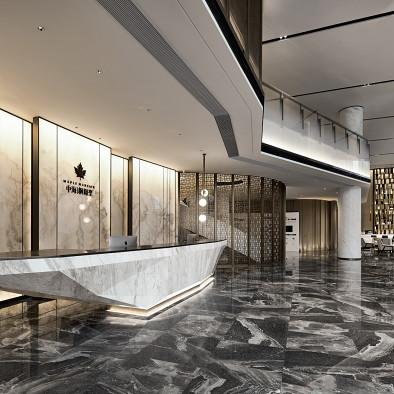杰恩设计 姜峰 宁波中海枫桥里售楼中心