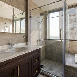 精致現代衛浴實景圖片