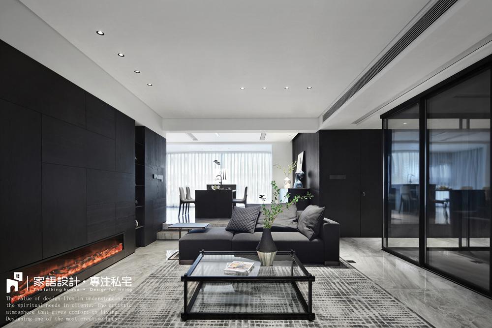 典雅125平现代三居客厅装修图客厅现代简约客厅设计图片赏析