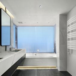 黑系列现代大卫浴设计图