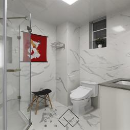 混搭风四居卫浴设计图片