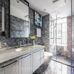 柔和系现代卫浴设计图片