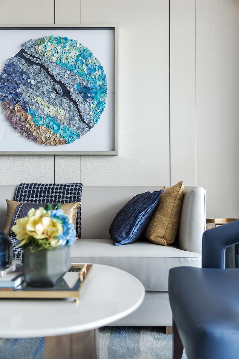 悠雅260平现代样板间客厅装潢图客厅2图现代简约客厅设计图片赏析