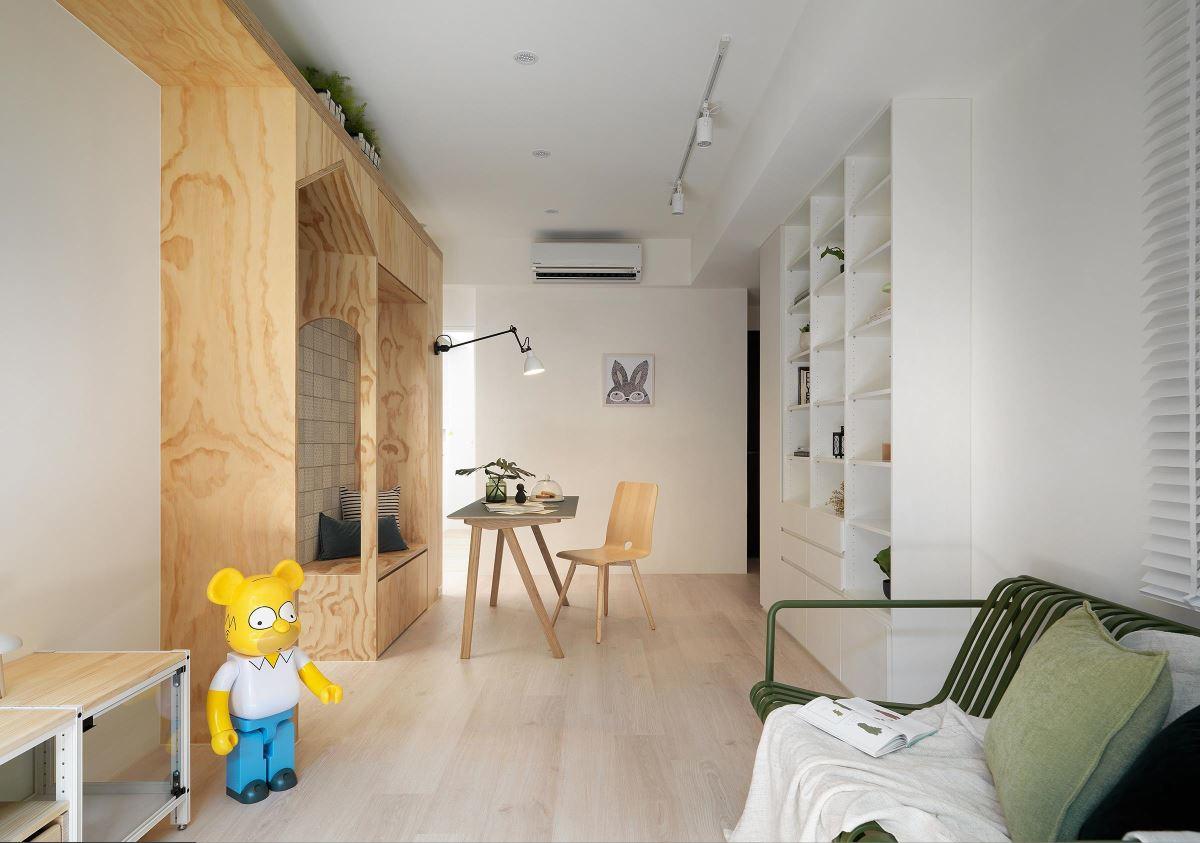 华丽21平北欧小户型客厅装修图片客厅1图