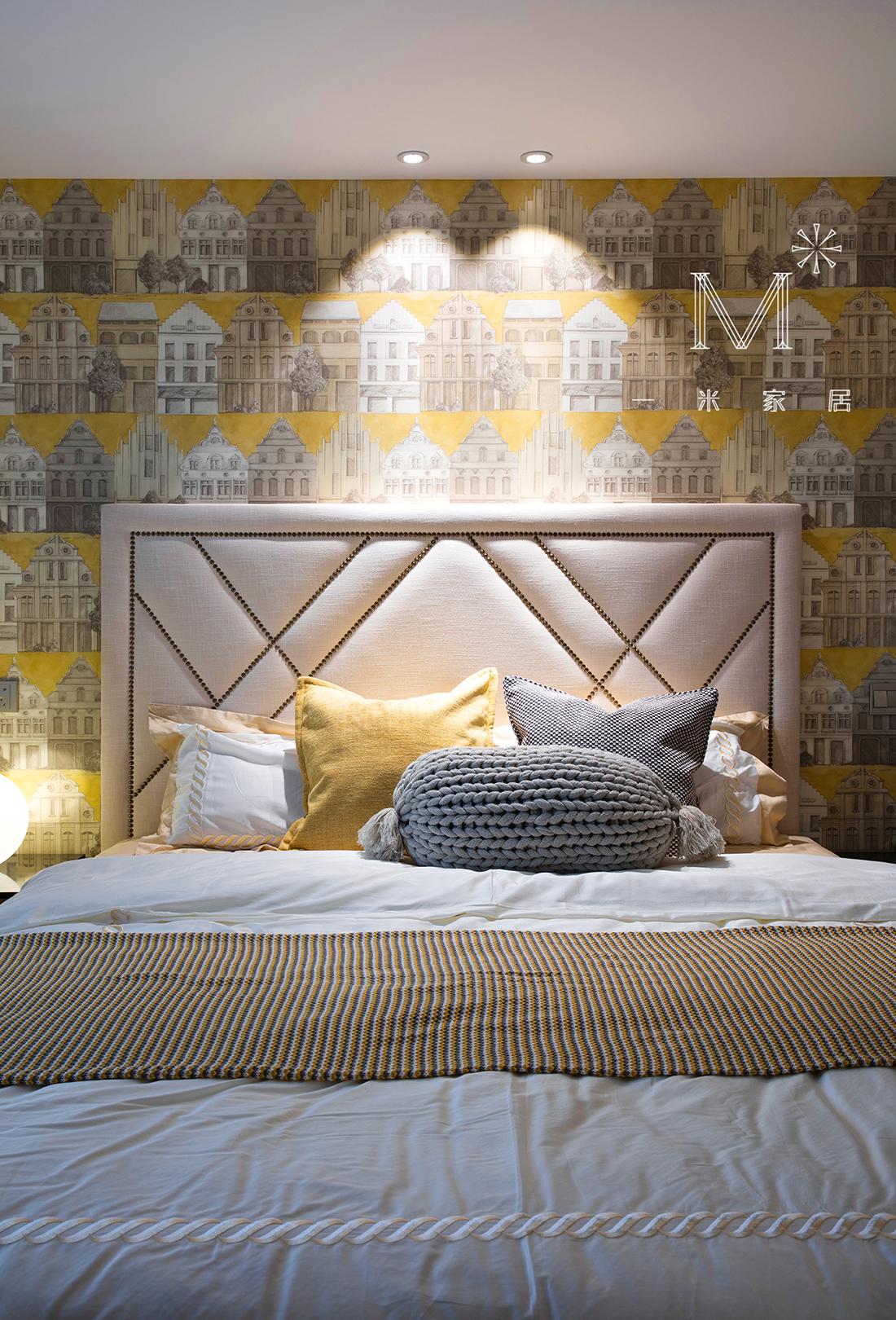 轻奢140平美式三居装修图卧室美式经典卧室设计图片赏析
