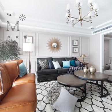 简奢美式客厅吊灯图片