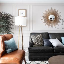 简奢美式客厅设计图